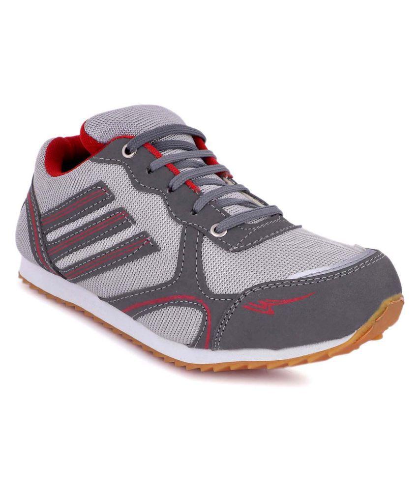 zorik Gray Running Shoes