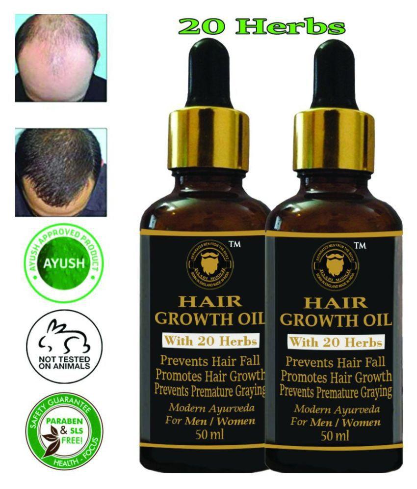 DAARIMOOCH Anti Hair Fall- Hair Growth Oil for Men & Women 100 mL Pack of 2