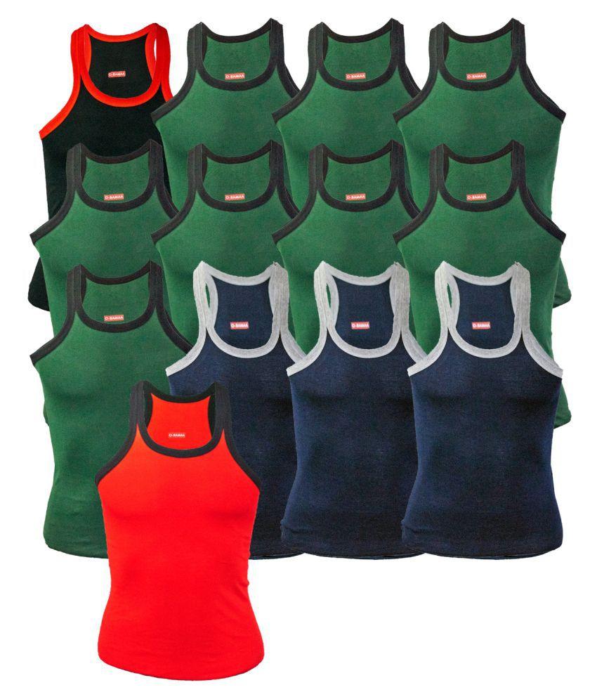 Rupa Multi Sleeveless Vests Pack of 13