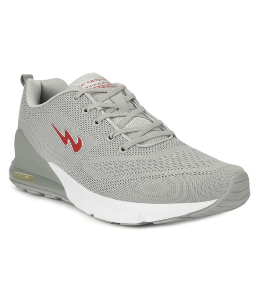 Campus NORTH PLUS Gray Running Shoes
