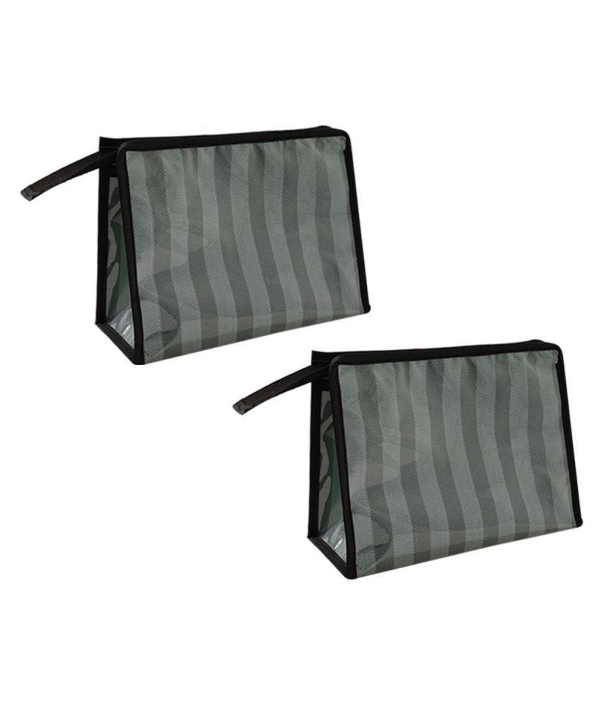 PrettyKrafts Grey Cosmetic Pouch