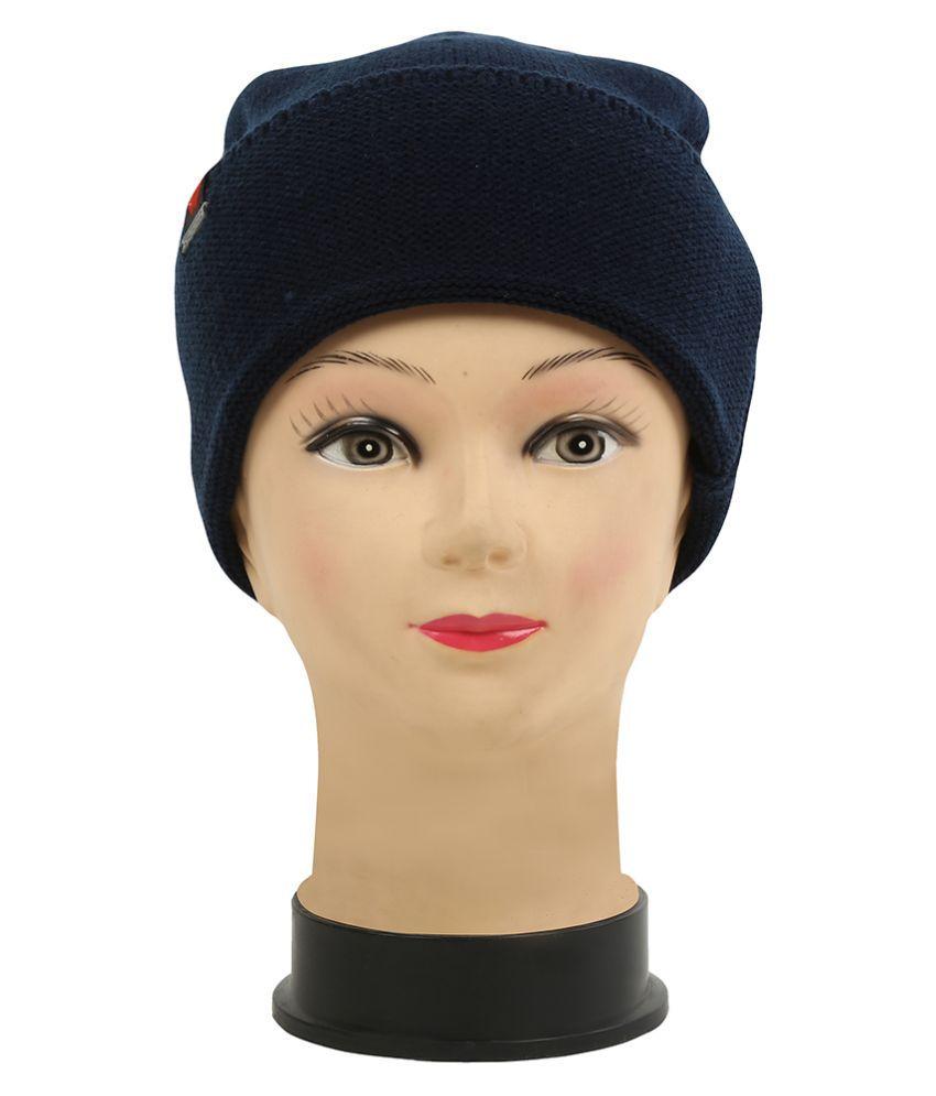 WARMZONE WINTER STYLISH SOLID COLOR WOMEN WARM CAP