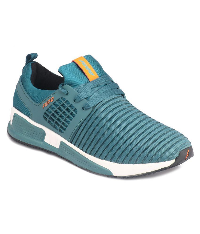FURO Walking Blue Running Shoes
