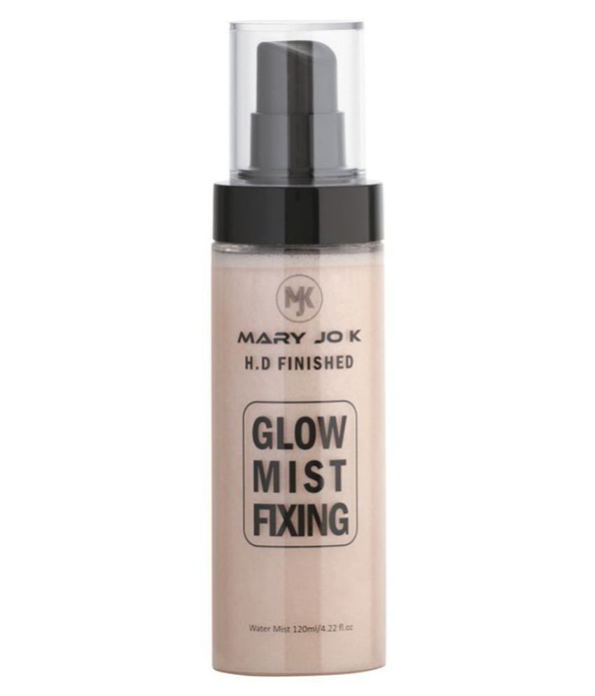 mary jo k HD Finished Glow Mist Fixing Face Primer Spray 120 g