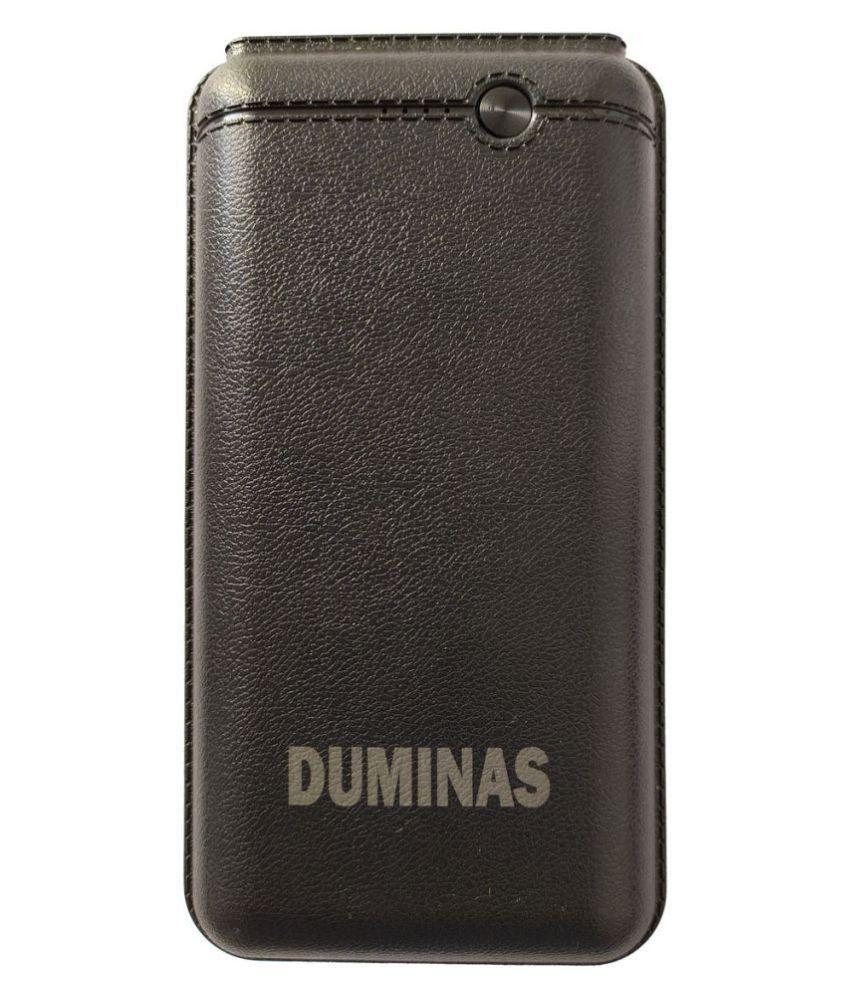 Duminas DM 101 20000  mAh Li Polymer Power Bank Black