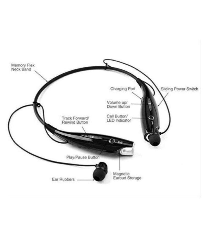 UDDO BT 9001 BLUETOOTH Neckband Wireless With Mic Headphones/Earphones