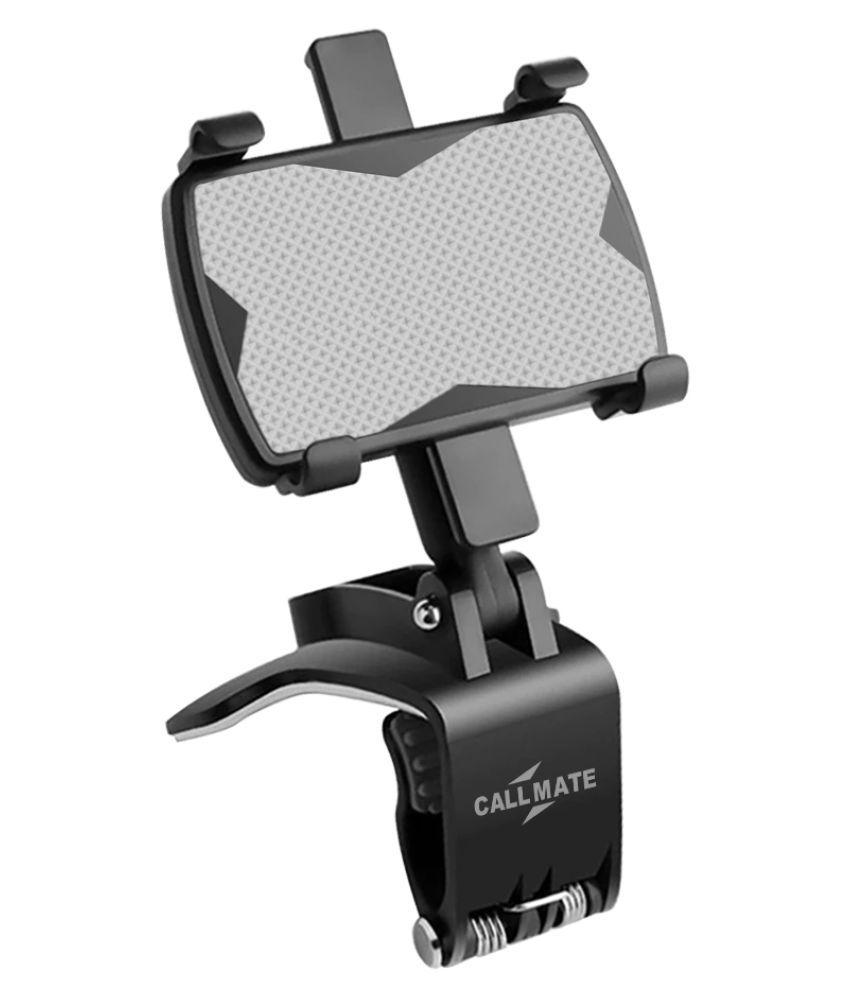 Callmate Car Mobile Holder Single Clamp for Steering   Black