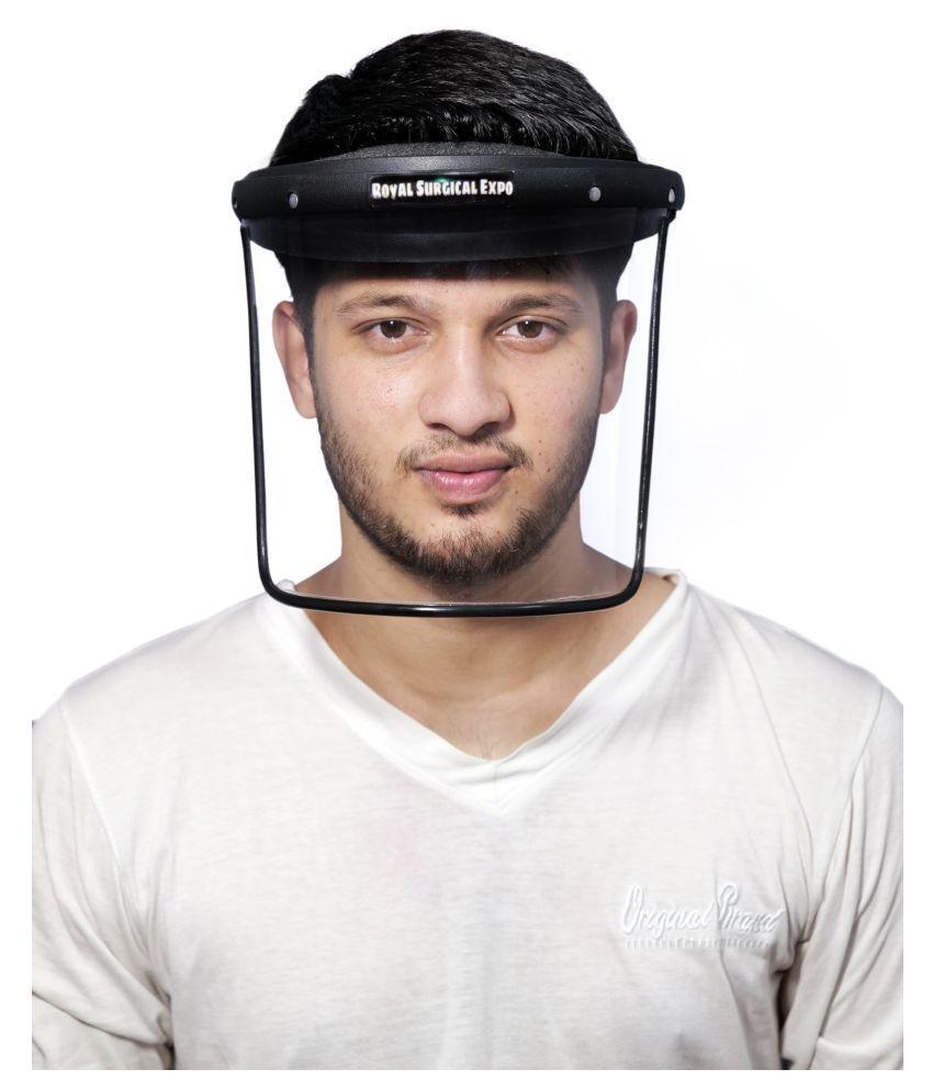 RSG EXPO facesheild 3.0 - Open Face Helmet Black L