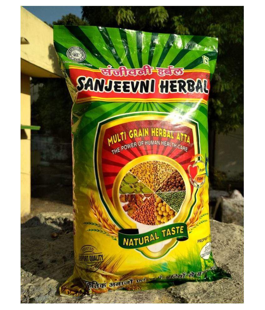 Sanjeevni herbal Sharbati Wheat Flour (Atta) 2 kg