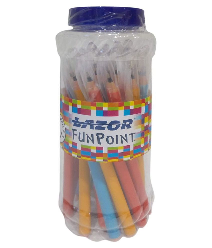 LAZOR FUNPOINT JAR (PACK OF 75): Buy Online at Best Price in India -  Snapdeal