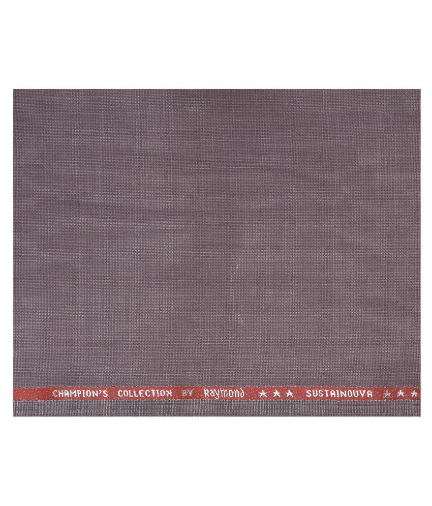 Raymond Brown Woollen Unstitched Suit Piece