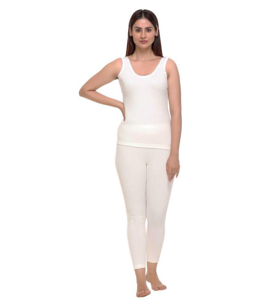 WARMZONE Cotton Blend Set - Off White
