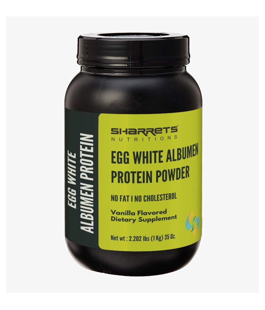 SHARRETS NUTRITIONS EGG WHITE (ALBUMEN) PROTEIN-2 Kg-VANILLA 2 kg