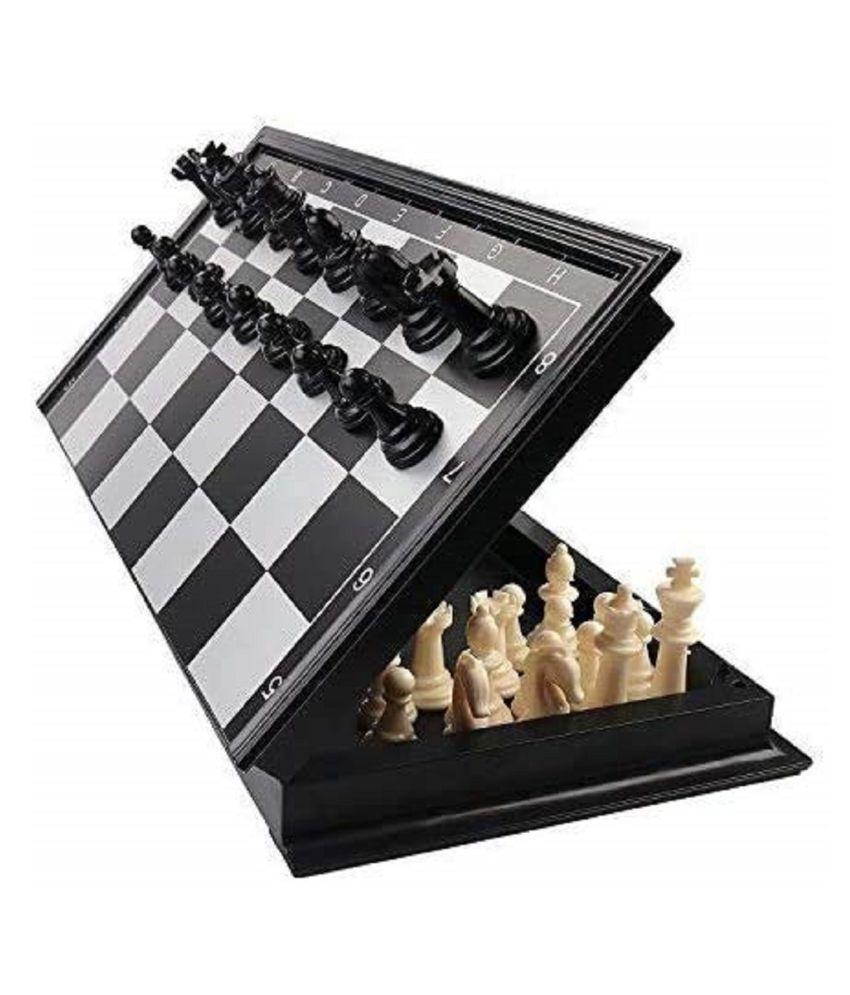 VBE Chess Folding Magnetic Educational Travel Set Board Game