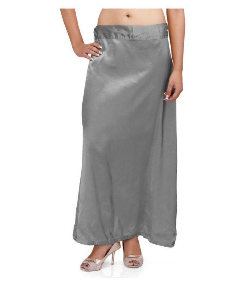 PKYC Grey Satin Petticoat