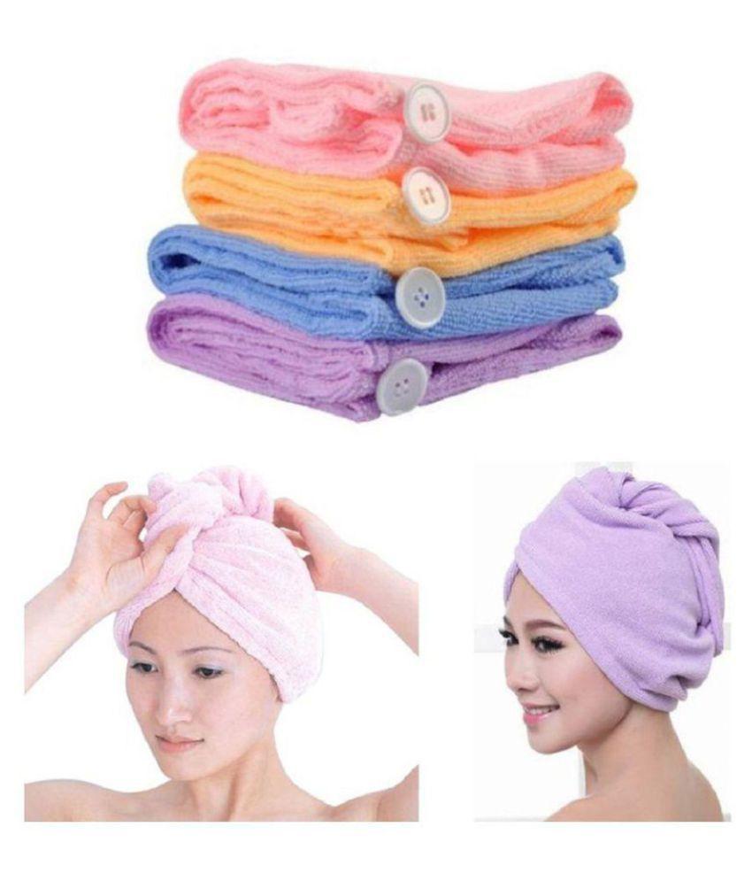 FeelBlue Set of 4 Hair Wrap Multi