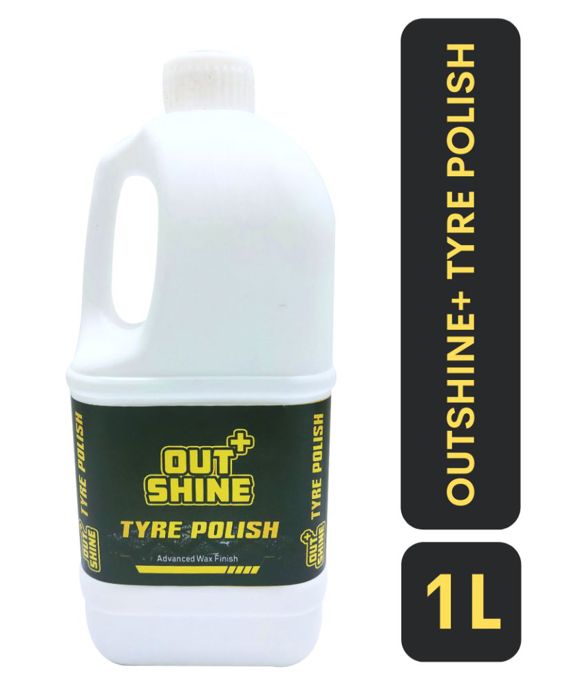 Outshine+ TYRE POLISH | TYRE GLOSS | GLOSSY FINISH | SILICON BASED