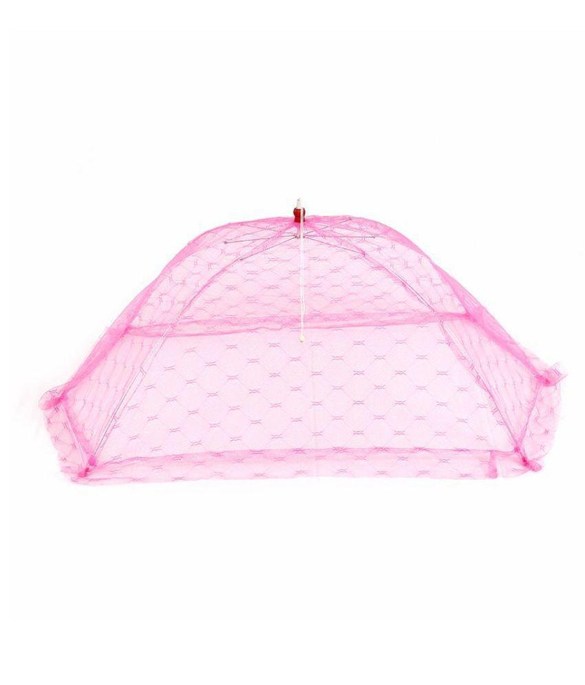 AHC Pink Nylon Mosquito Net   120 cm × 70 cm