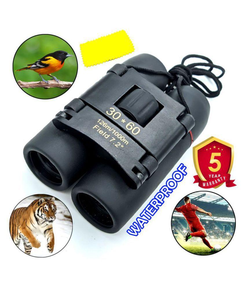 Dual Focus Powerful Lens 30X Zoom Optics 30X62 Prism Binocular Monocular Telescope Professional Waterproof Outdoor Portable HD Binoculars 126m/1000m Range