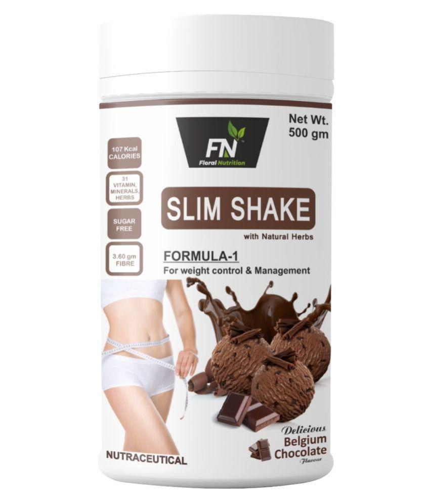 FN Floral Nutrition Slim Shake Formula 1   500 gm Chocolate