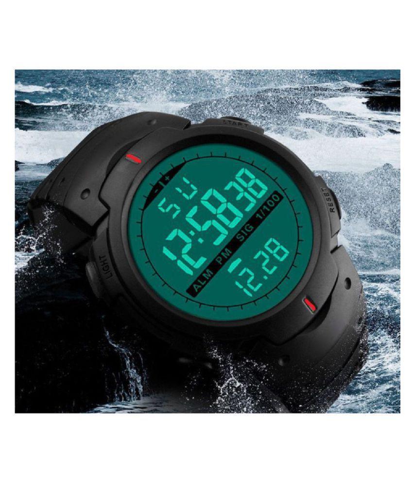 Hala Sports Waterproof gym fitness Silicon Digital Boy's Watch