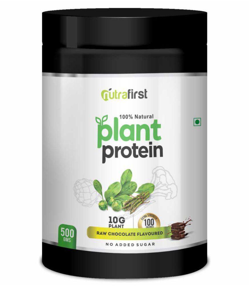 Nutrafirst Plant Protein for Men & Women 500 gm Powder