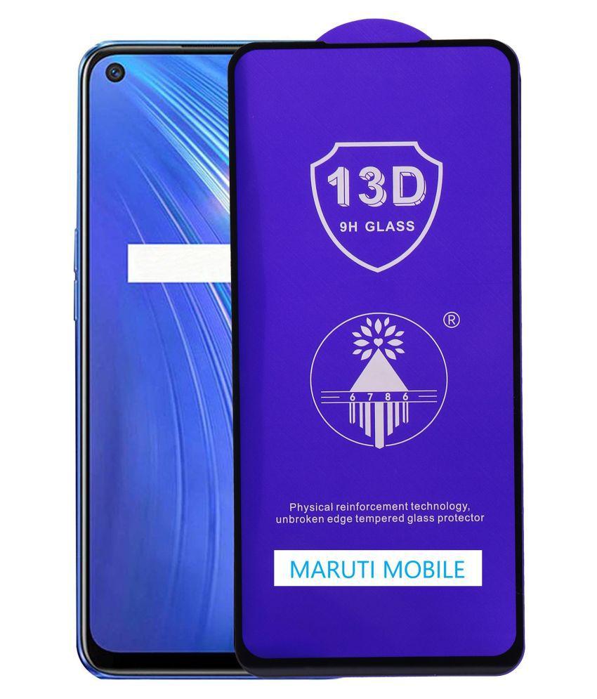 Realme Narzo 10A Tempered Glass by maruti mobile