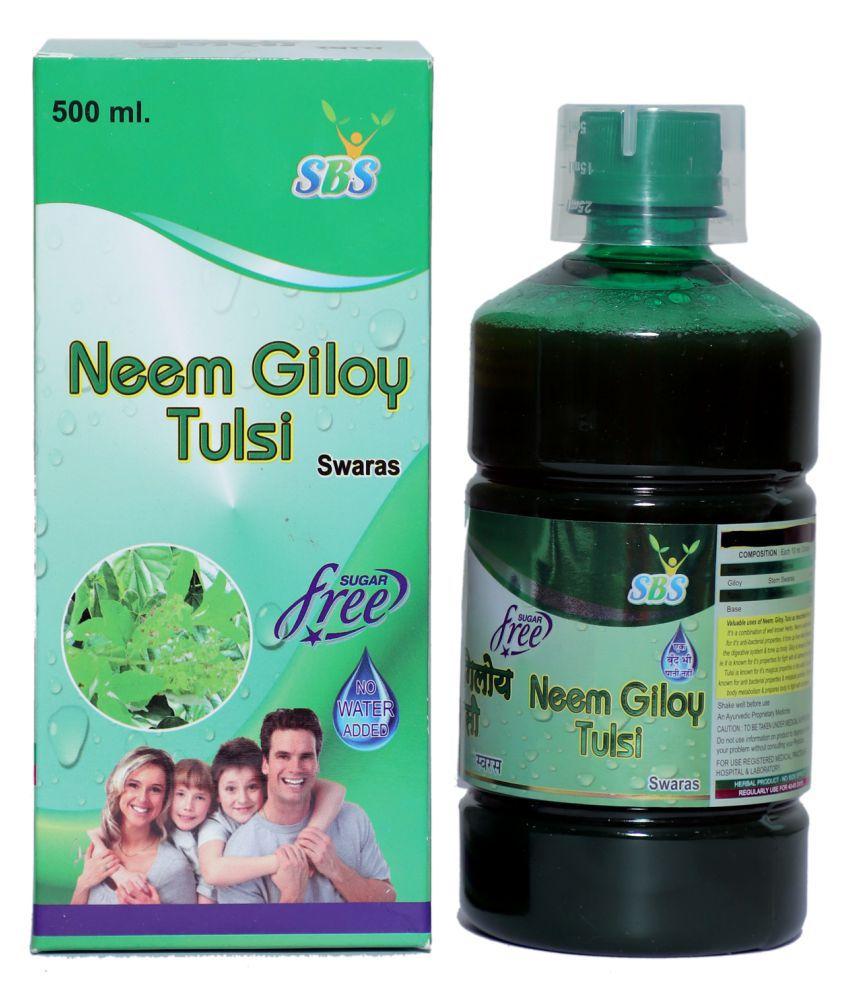 SBS Neem Giloy Tulsi Juice Liquid 500 ml Pack Of 1