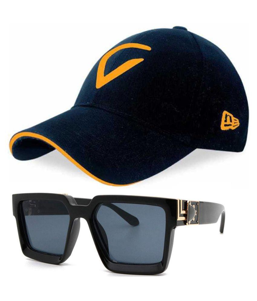 Guys'n'Girls Virat Kohli Inspired Cap With Free Jazz Manak Sunglasses