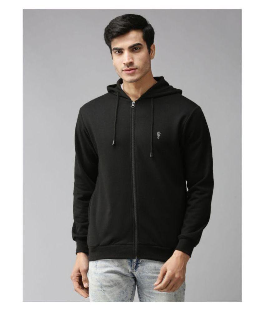 EPPE Black Polyester Fleece Sweatshirt Single Pack