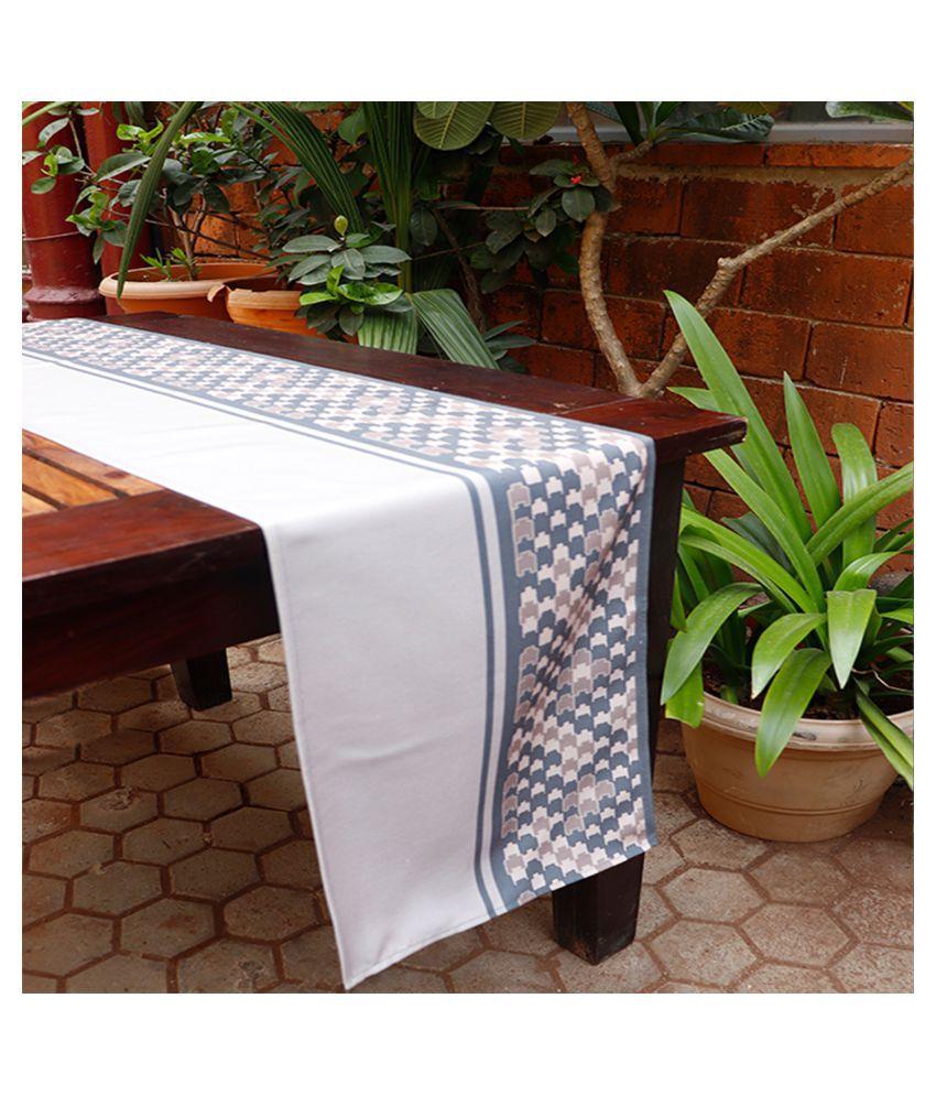 Zeba 6 Seater Polyester Single Table Runner