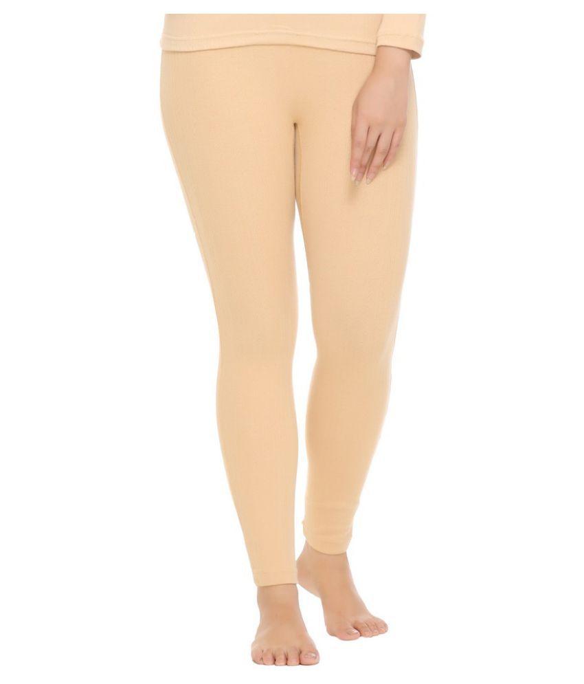 WARMZONE Cotton Blend Bottomwear - Yellow