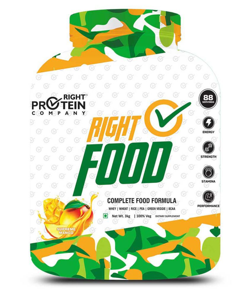 RIGHT PROTEIN COMPANY RIGHT FOOD 3 kg