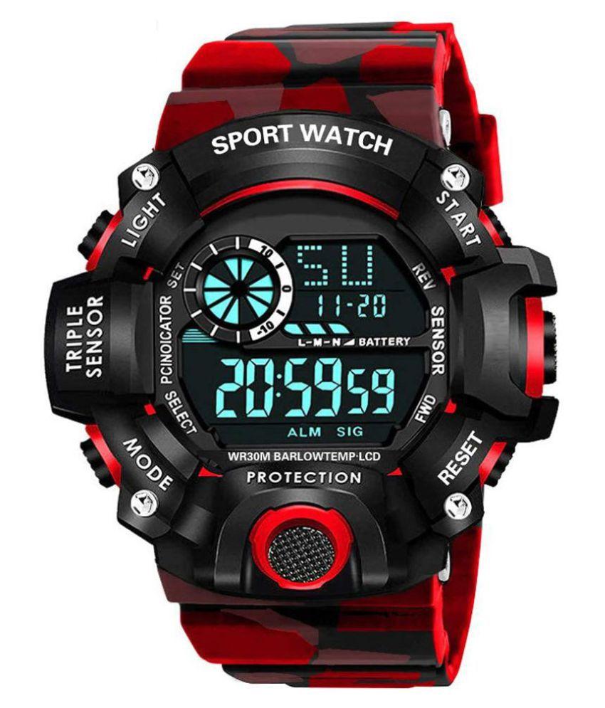 Redux DG092 Sports Resin Digital Men's Watch
