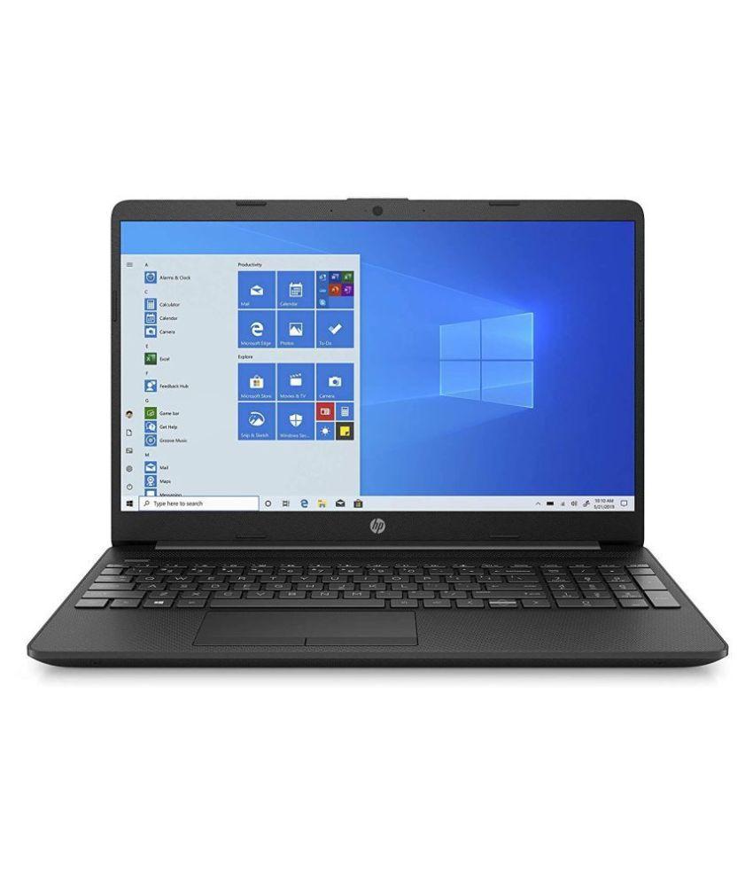 HP 15 Entry Level 15.6-inch FHD Laptop (Pentium Gold 6405U/4GB/1TB/Win 10/Jet Black/1.74kg), 15s-du1052tu