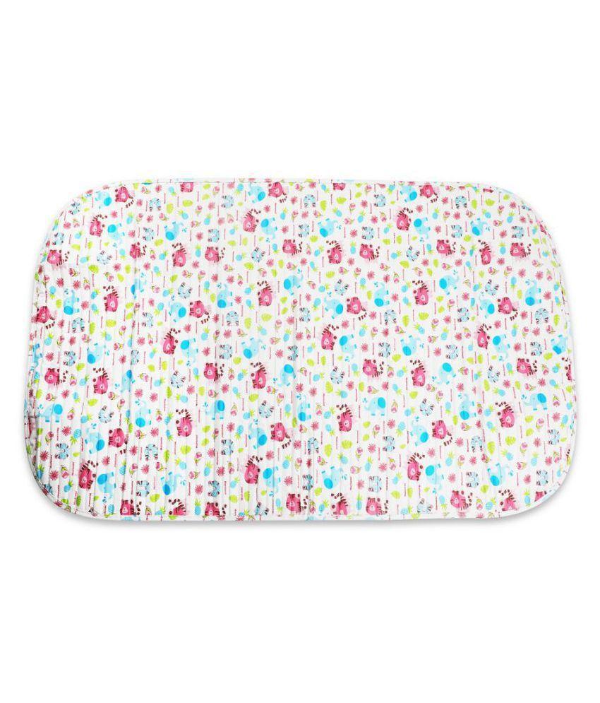 Morisons Baby Dreams White Fleece Cot Mattress ( 20 cm × 15 cm)