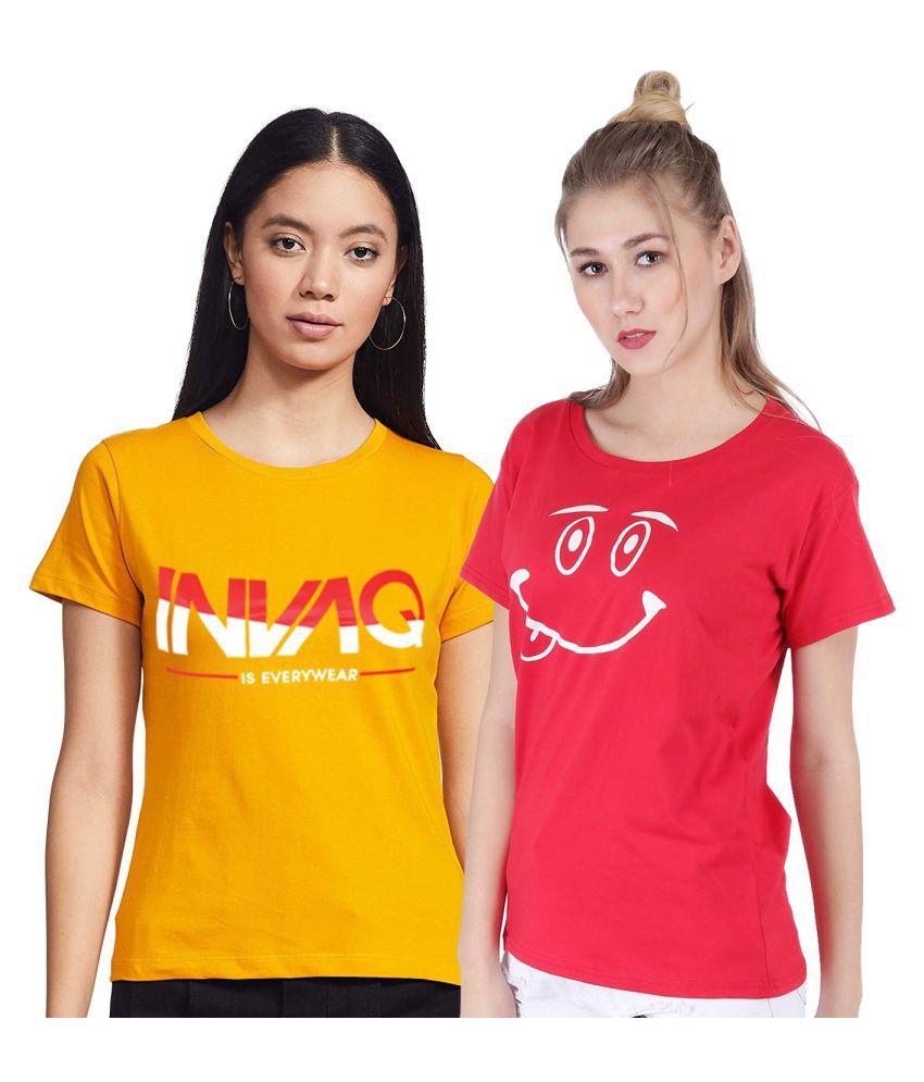 Broadstar Cotton Multi Color T-Shirts