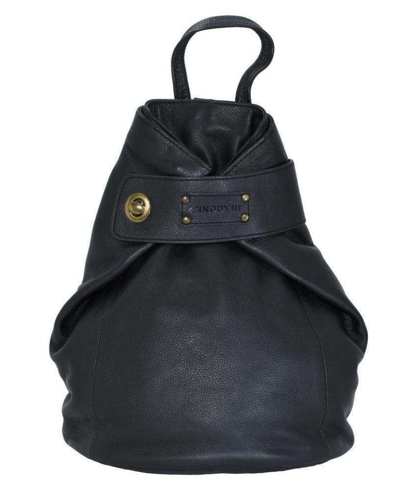Annodyne Black Backpack