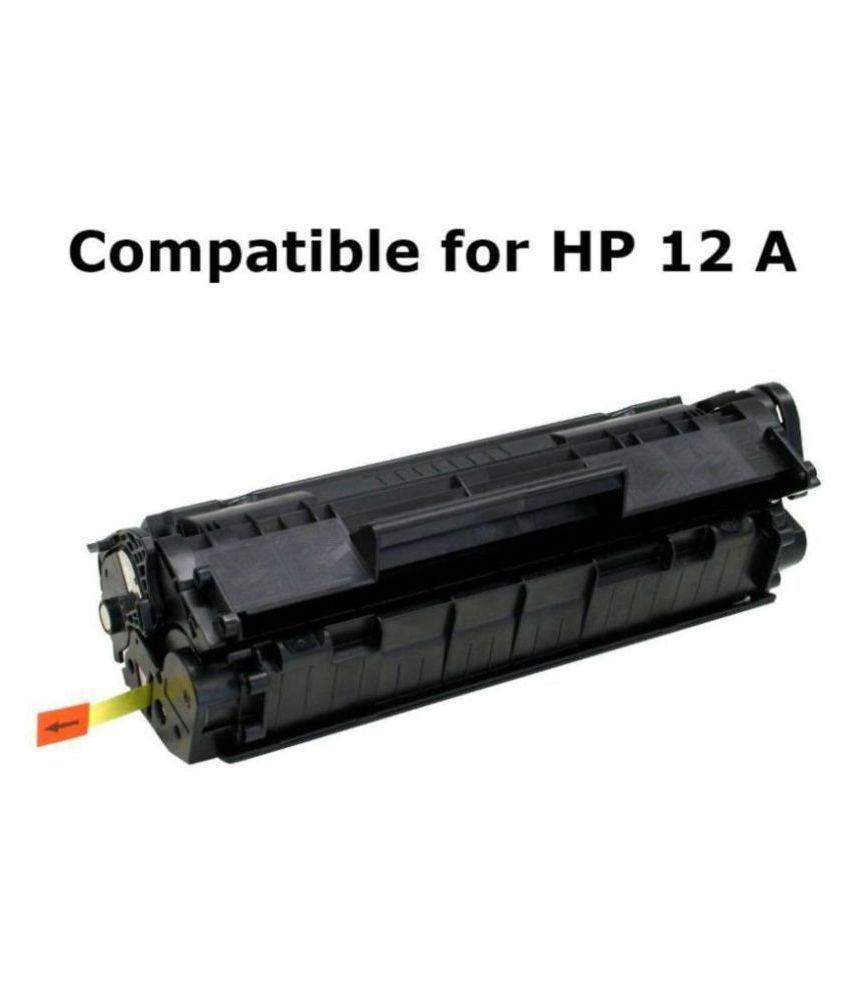 Kavox 12A Q2612A Black Single Toner for HP Laserjet Printers 1010, 1012, 1015, 1018, 1020, 1022, 1022N, 3020, 3030