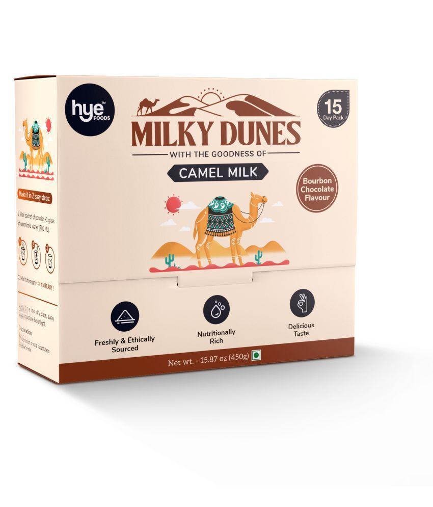 HYE FOODS Milky Dunes l Bourbon Chocolate 15*30 pack Flavoured Milk 450 g