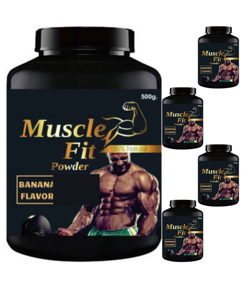 VITARA HEALTHCARE muscle fit 2.5 kg Powder Pack of 5