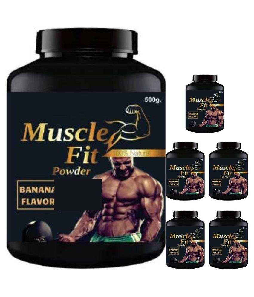 VITARA HEALTHCARE muscle fit 3 kg Powder Pack of 6