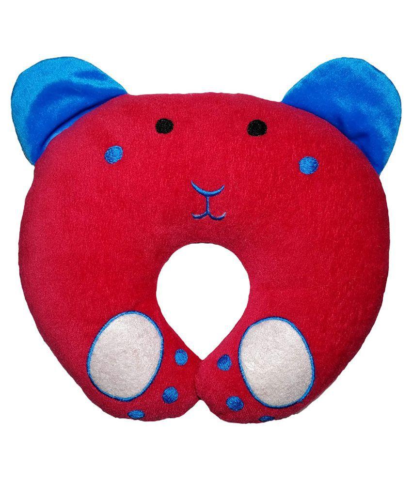HomeStore-YEP Red Cotton U shape Baby Pillow