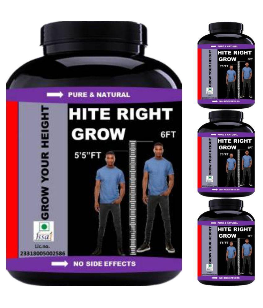 VITARA HEALTHCARE hite right grow 0.4 kg Powder Pack of 4