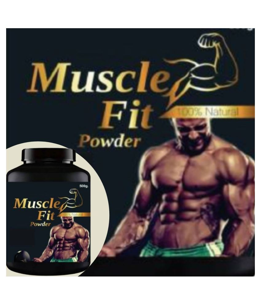 VITARA HEALTHCARE muscle fit 0.5 kg Powder