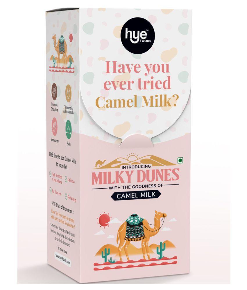 HYE FOODS Camel Milk Powder Milky Dunes Starter Pack Flavoured Milk 110 g Pack of 4