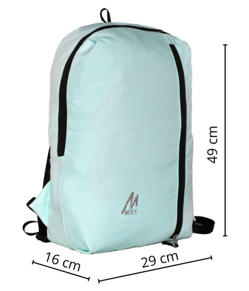 MIKE Sea Green Backpack