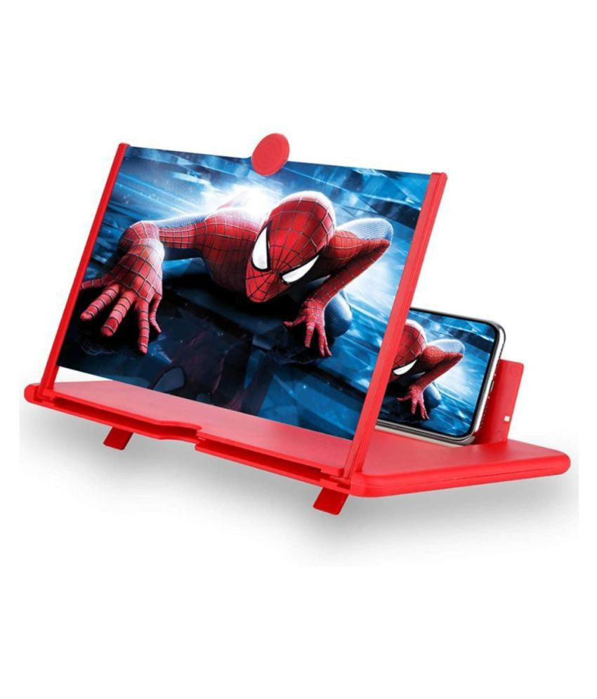 Mobile Phone 3D Screen Magnifier 3D Video Screen Amplifier Eyes Protection Enlarged Expander Support for All Smartphones