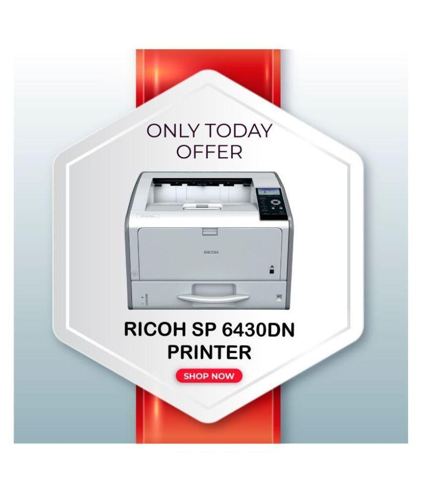 Ricoh SP6430DN A3 printer Single Function B/W Laserjet Printer