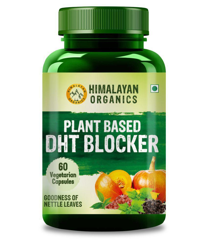 Himalayan Organics Plant Based DHT Blocker 60 no.s Minerals Capsule